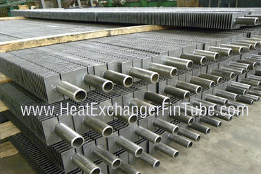 A213 TP304 / TP304L Stainless Steel H Fin Welded Heat Exchanger Finned Tube